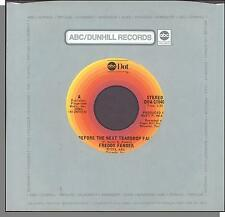 """Freddy Fender - Before the Next Teardrop Falls + Waiting For Your Love - 7"""" 45"""