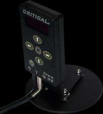 """Critical Tattoo Stand Alone 6"""" Steel Base Plate for Power Supply"""