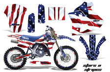 YAMAHA WR 250Z Graphic Kit AMR Racing # Plates Decal Sticker Part 91-93 STRS
