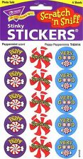 60 Trend Peppy PEPPERMINT Scratch and Sniff reward Stickers n