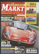 Oldtimer Markt 7/2001 Münch Citroen ID DS Sareola Bentley Karmann Alfa Romeo