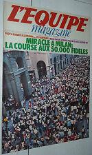 L'EQUIPE MAGAZINE N°10 1980 JESSE OWENS BUNDESLIGA RUGBY BASTIAT MILAN BORG