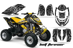 CAN-AM DS650 BOMBARDIER GRAPHICS KIT DS650X CREATORX DECALS STICKERS BTSY