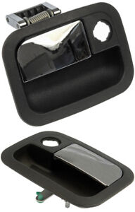Two  Black Left & Right Exterior Door Handles (Dorman 760-5403 & 760-5408)