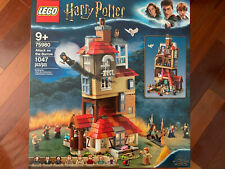 New Sealed Lego Harry Potter Attack on the Burrow Weasley's Family House 75980