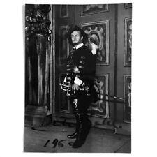 Opera. Baritono Tito Gobbi original photo autograph 1960