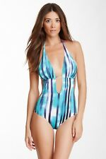 $180 COSABELLA Loire One-Piece Swimsuit Sexy Plunge Size Small