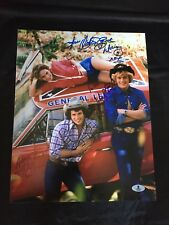 The Dukes of Hazzard cast piece signed 11x14 autographed photo Beckett A01284