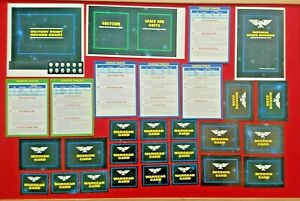 Warhammer 40k 2nd Edition 1993 Mission Wargear Ref Squad Vehicle Cards