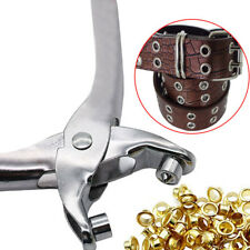 30 Eyelets Grommet Pliers Eyelets Set For DIY Shoes Clothes Manual Tools Kit