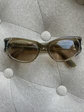 vintage glasses with rhinestones/cat eye and Oliver peoples lenses