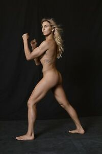 Charlotte Flair 11x14 Photo Espn Body Issue Print Sexy Naked WWE NXT AEW POSTER