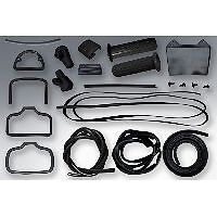 Lambretta Series 1 and 2 Rubber Set Pack Kit in Black from Sterling
