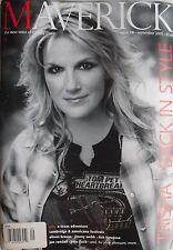 TRISHA YEARWOOD September 2005 MAVERICK Magazine BELA FLECK  ALISON KRAUSS
