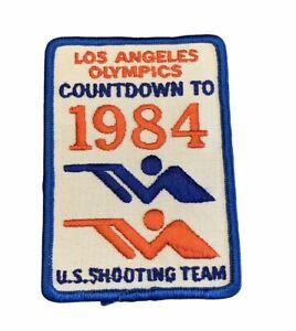 VTG Los Angeles Olympics 1984 Shooting Team Patch Gun USA