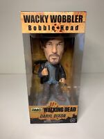 "Funko AMC The Walking Dead 7"" Biker Daryl Dixon Bobble Head Wacky Wobbler NEW"