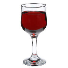 SET of 4-pc Luminarc 'Bloom' 8 Oz Crystal-Clear Burgundy Goblets, Wine Glasses