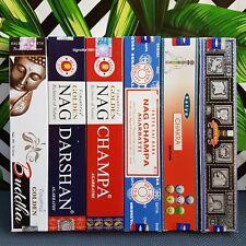 6 confezioni di Incenso Satya Nag Champa bastoncini incensi