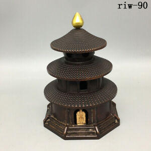 Chinese  Copper gilding  Little temple of heaven  Fumigation  Incense burner