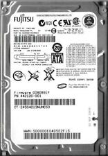 FUJITSU MHW2160BH 160GB SATA HARD DRIVE P/N: CA06820-B41800C1  FW: 0080891F