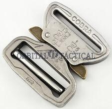 AustriAlpin Adjustable Cobra Buckle Chrome / Silver Riggers 1.75 Inch 45MM