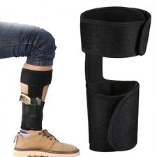 Convenient Conceled Carry Wrap Ankle Holster For Small Frame Pistol Gun