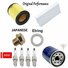 Tune UP KIT Cabin Air Oil Filters Plugs for Honda Element 2.4L; K24A4 Eng 2006