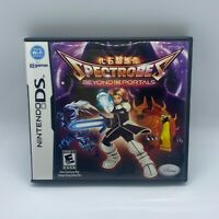 Spectrobes: Beyond the Portals (Nintendo DS, 2008) Video Game W/ Case