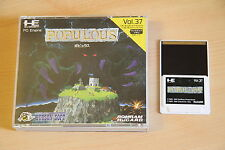 POPULOUS Jeu NEC PC Engine Hucard import JAP cib