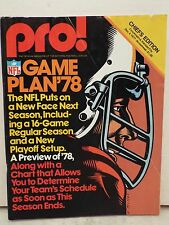 PRO! GAME PLAN'78 THE NFL PUTS ON A NEW FACE NEXT SEASON, INCLUDING A 16 GAME RE