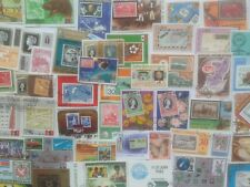 200 Different Stamp on Stamp Collection