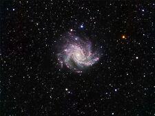 ART PRINT POSTER SPACE STARS GALAXY NIGHT SPIRAL UNIVERSE HUBBLE NOFL0407