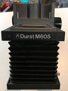 Durst M605 darkroom enlarger color B&W chasis medium format mount Head parts