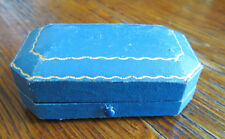OLD BAILEY BANKS & BIDDLE 8 SIDED JEWELRY BOX for Tie Bar - Philadelphia