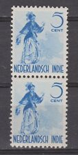 Nederlands Indie Indonesie 302 MNH pair Netherlands Indies 1941 Inheemse dansers