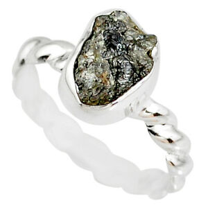 Factory Direct 2.11cts Diamond Rough Fancy Solitaire Ring Size 7.5 R79031