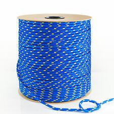 Polypropylen Seil BLAU ab 1m Flechtleine Tauwerk Polypropylenseil PP Seile