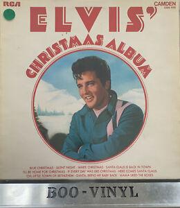 Elvis Presley - Christmas Album - Vinyl Record LP Album - CDS 1155 EX CON