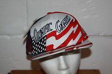VTG NOS Logo 7 Atlanta 1996 Olympics Intense Snap Back Hat Cap