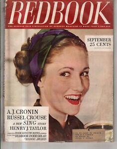 1944 Redbook September - Letters of a Bombardier; Earl Cordrey; Fascism Germany