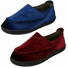 Ladies Clarks Home Charm Hook & Loop Slipper