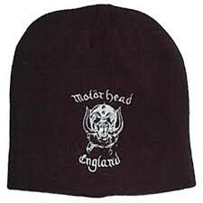1f9fb7b2791 Motorhead England Black Beanie Hat