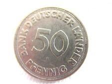 New listing 1949 Germany-Fed.Republic Bank Deutscher Lander 50 Pfennig/.#7.7/19
