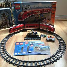 Lego City Passenger Train 7938 100% Complete Excellent Condition (Discontinued)