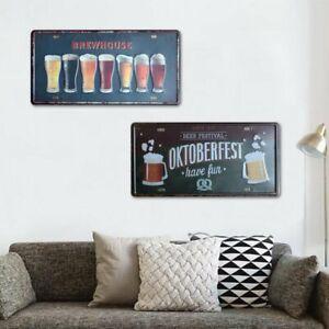 Tin Metal Sign Plaque Bar Pub Vintage Retro Wall Decor Poster Home Club