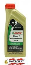 1x1l Castrol React Performance DOT 4 Bremsflüssigkeit 1 Liter