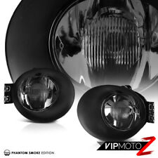 2002-2008 Ram 1500 2500 3500 Smoke Tinted Bumper Fog Lights Lamps Left Right Set