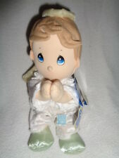 Precious Moments Plush Boy Angel Doll Says Bedtime Lords Prayer Pal retired