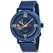 Christian Van Sant CV1145 Somptueuse 46MM Men's Blue Stainless Steel Watch