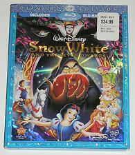 Disney Blu-ray DVD Combo - Snow White and the Seven Dwarfs (Used)